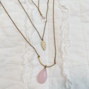 Adjustable layered necklace
